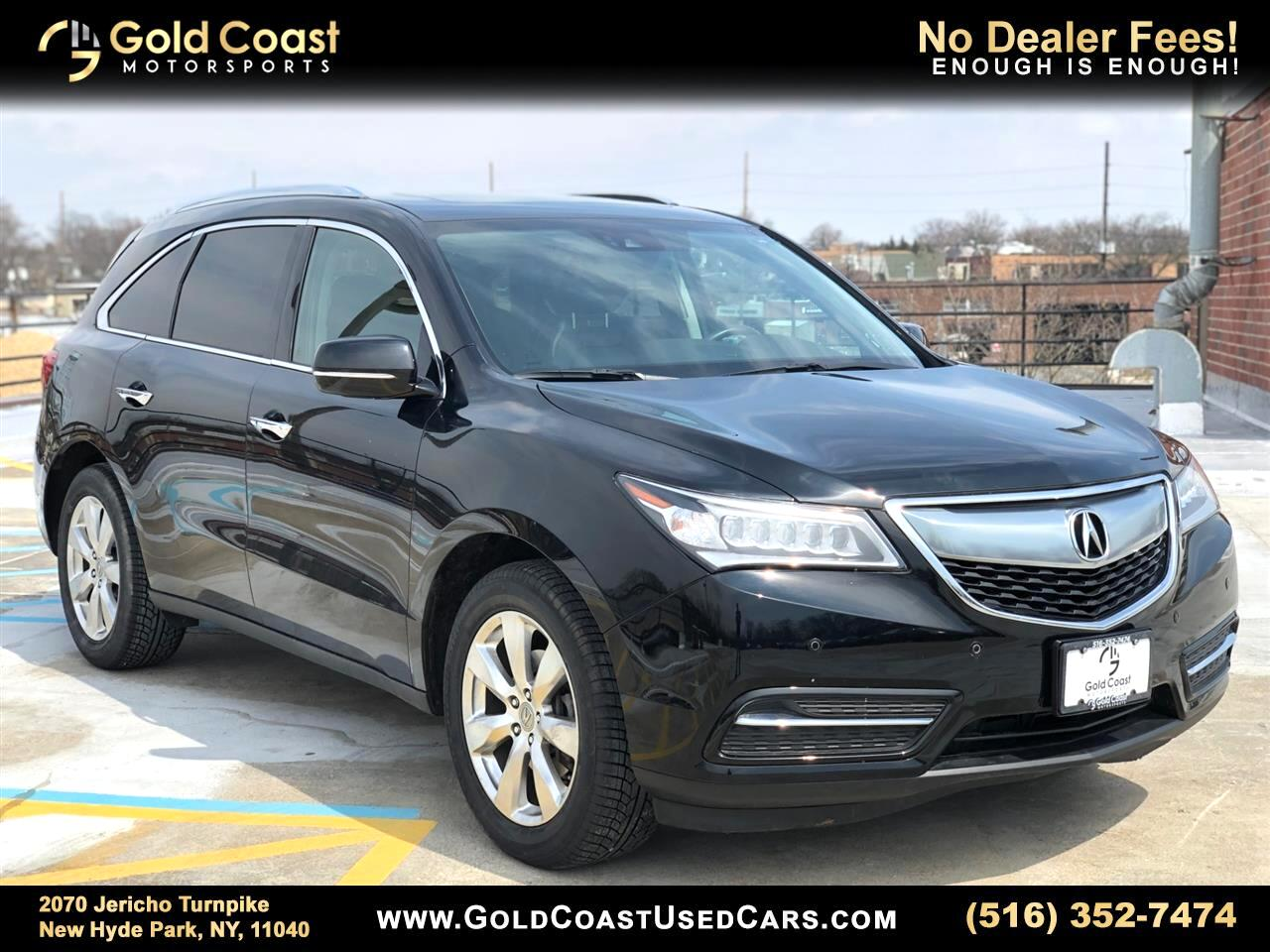 Acura MDX 9-Spd AT SH-AWD w/Advance and Entertainment 2016