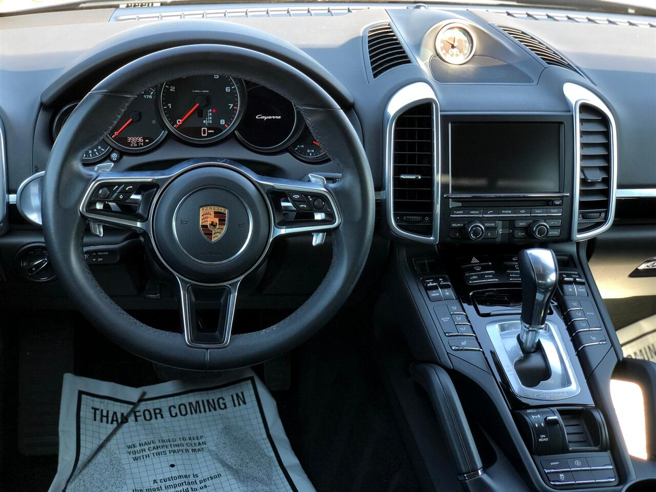 Porsche Cayenne Base 2016