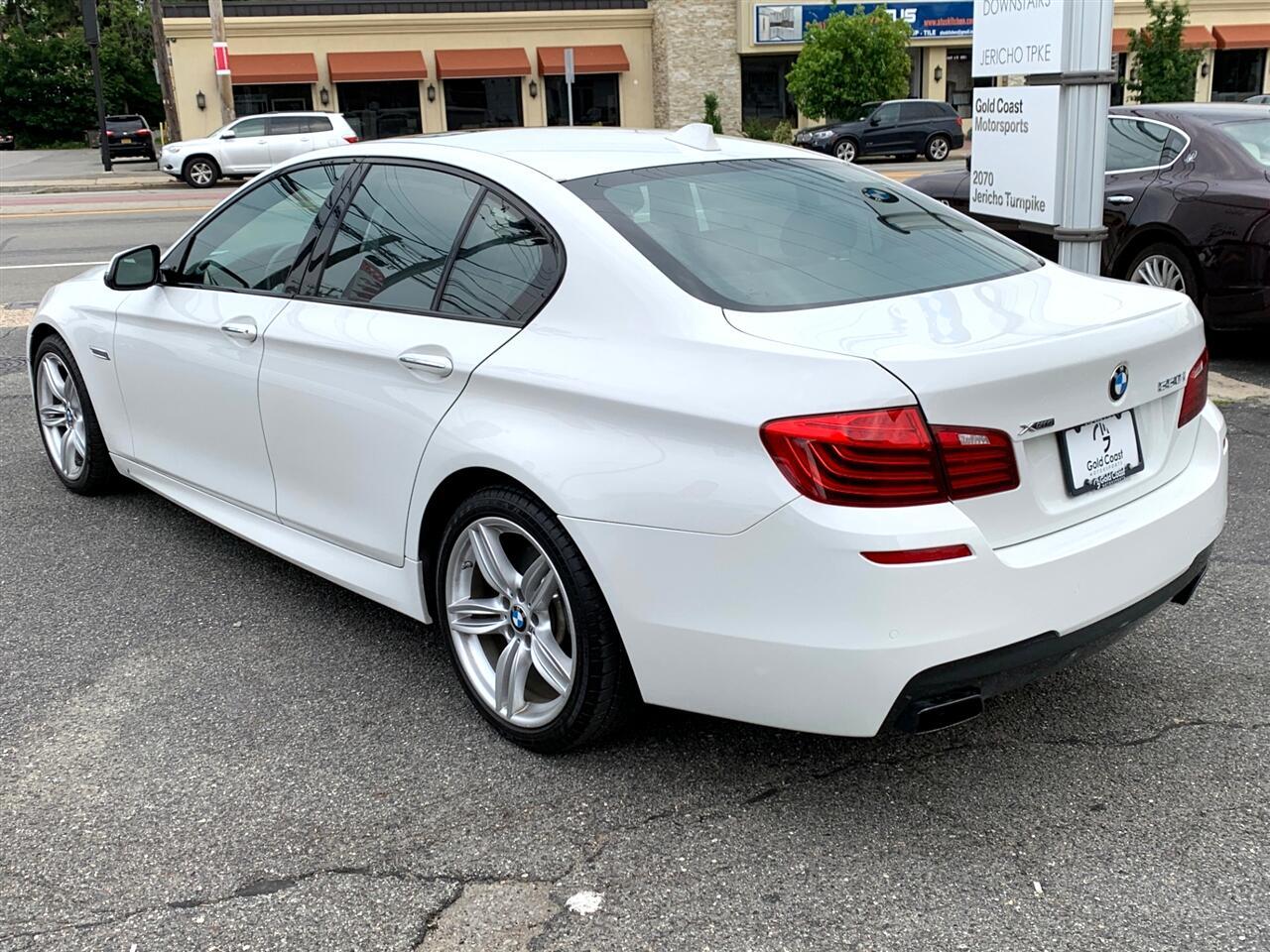BMW 5-Series 550i xDrive 2016