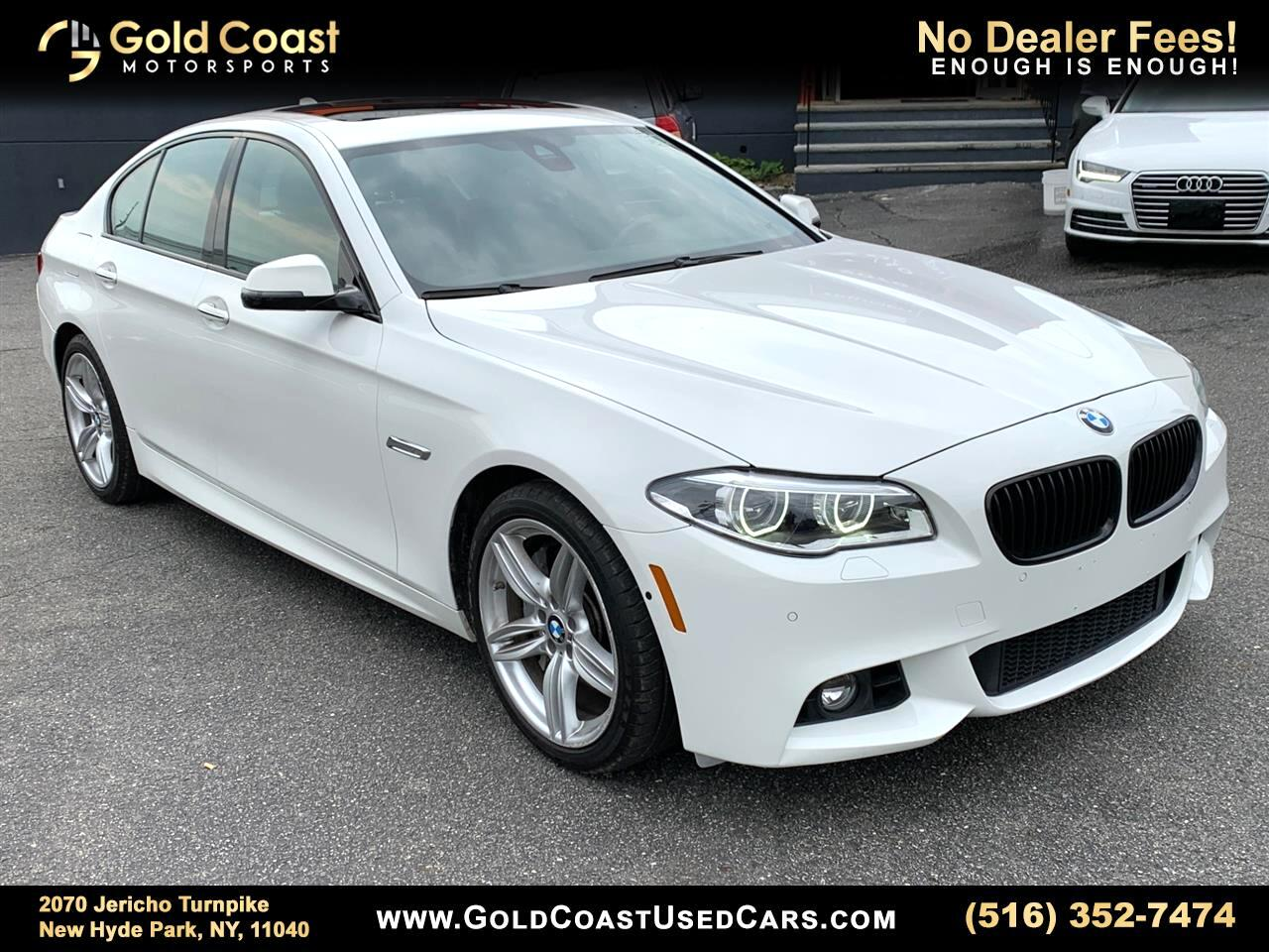 2016 BMW 5-Series 550i xDrive
