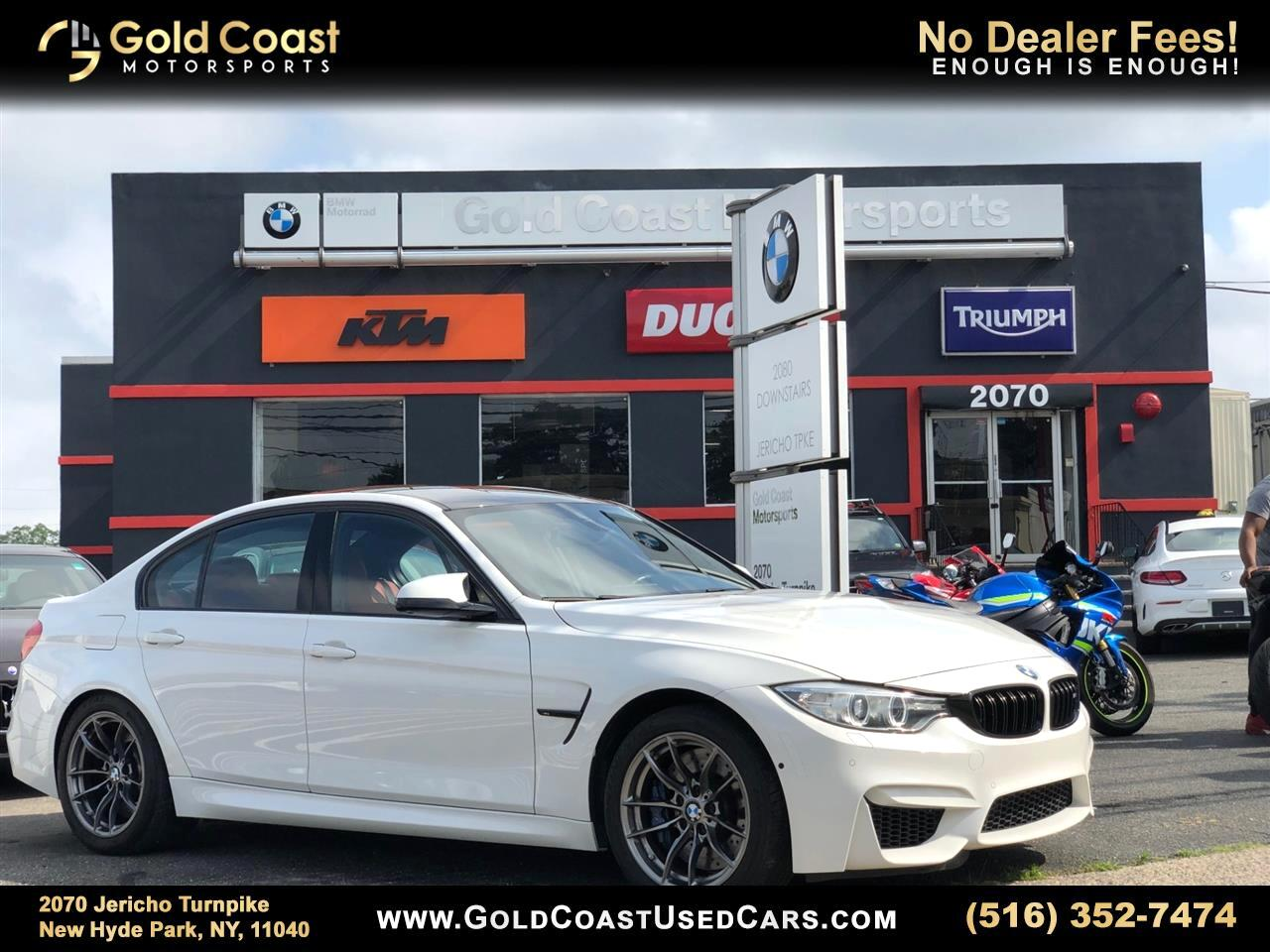 2016 BMW M3 4dr Sdn