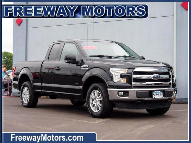 Ford F-150 Lariat SuperCab 6.5-ft. Bed 4WD 2016