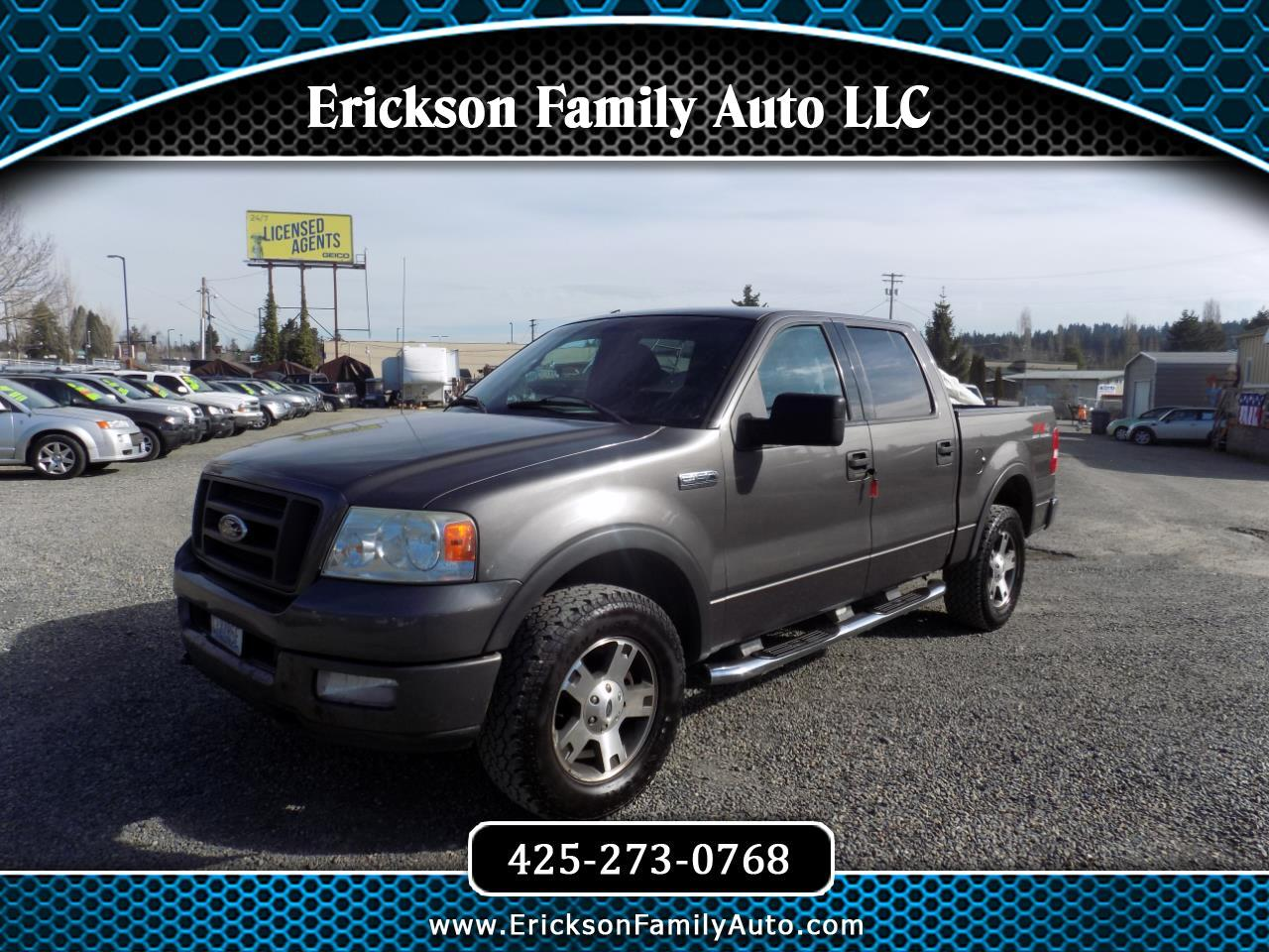 "Ford F-150 SuperCrew 139"" FX4 4WD 2004"
