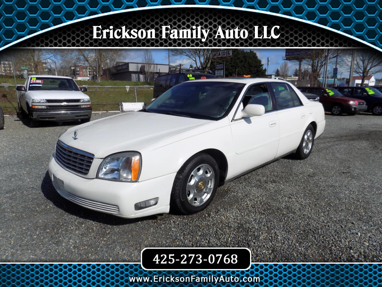 Cadillac DeVille 4dr Sdn 2001