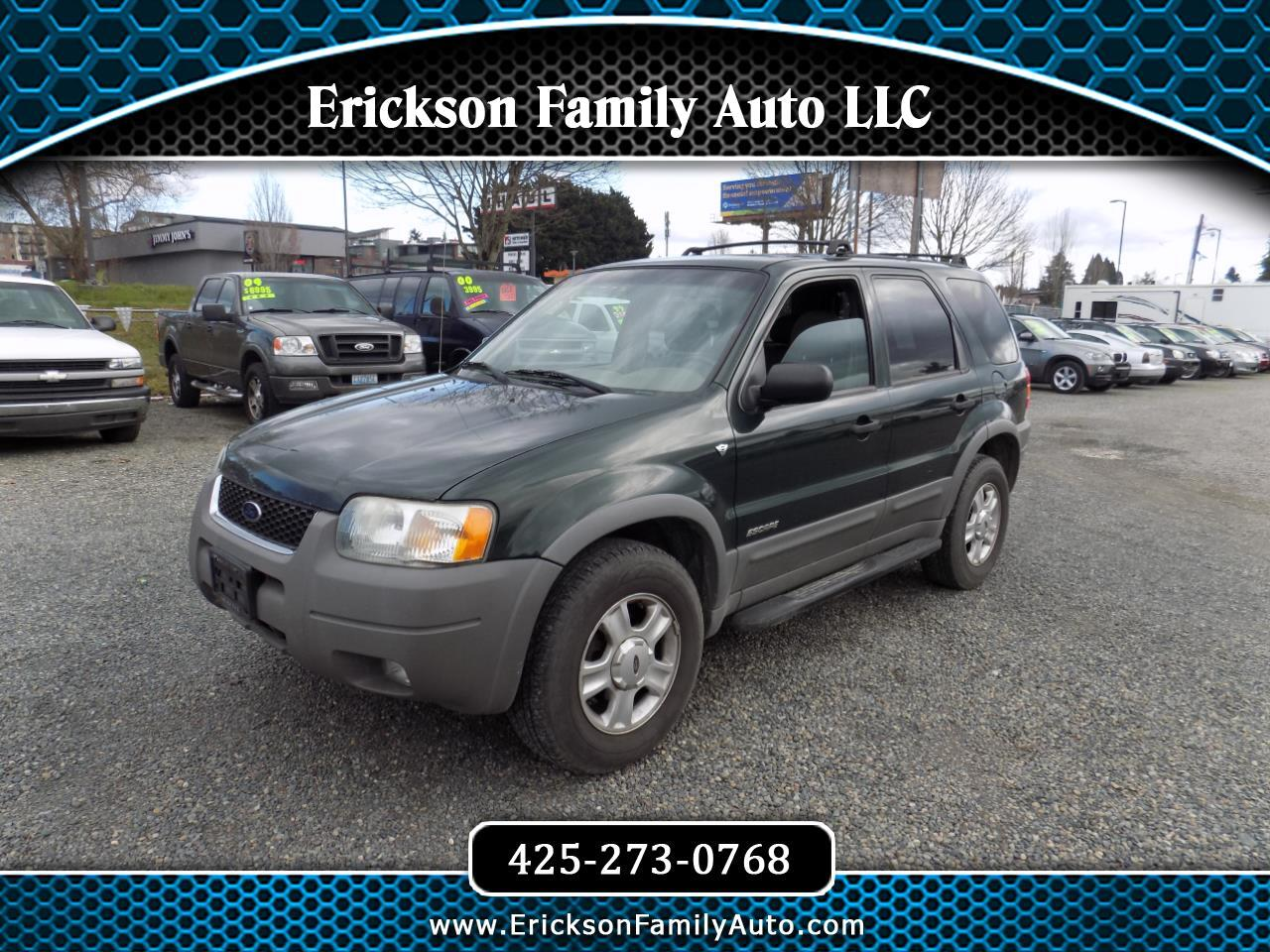 "Ford Escape 4dr 103"" WB XLT 4WD Sport 2002"