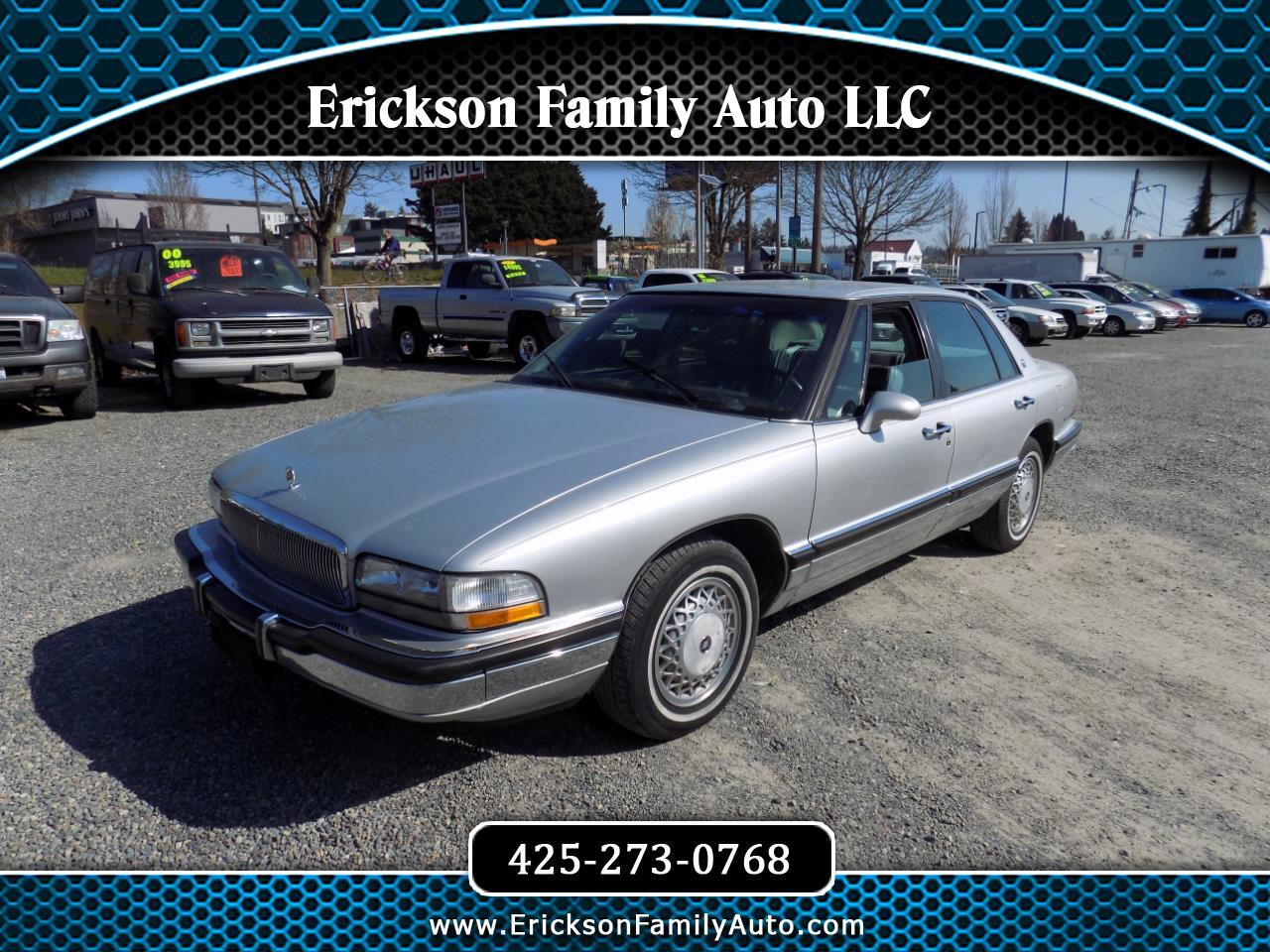 Buick Park Avenue 4dr Sedan 1991