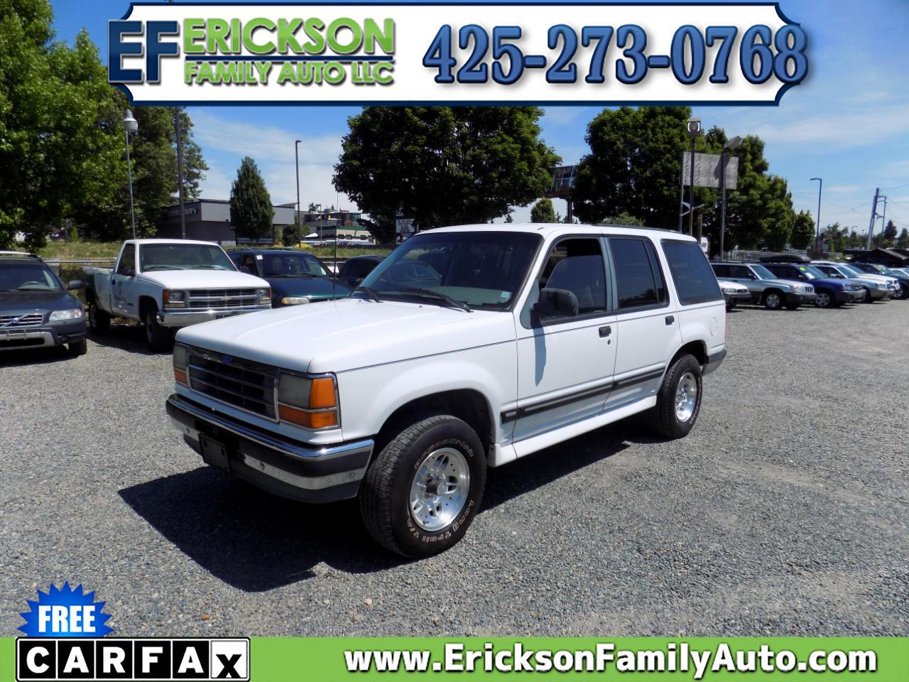 """Ford Explorer 4dr 112"""" WB XL 4WD 1994"""