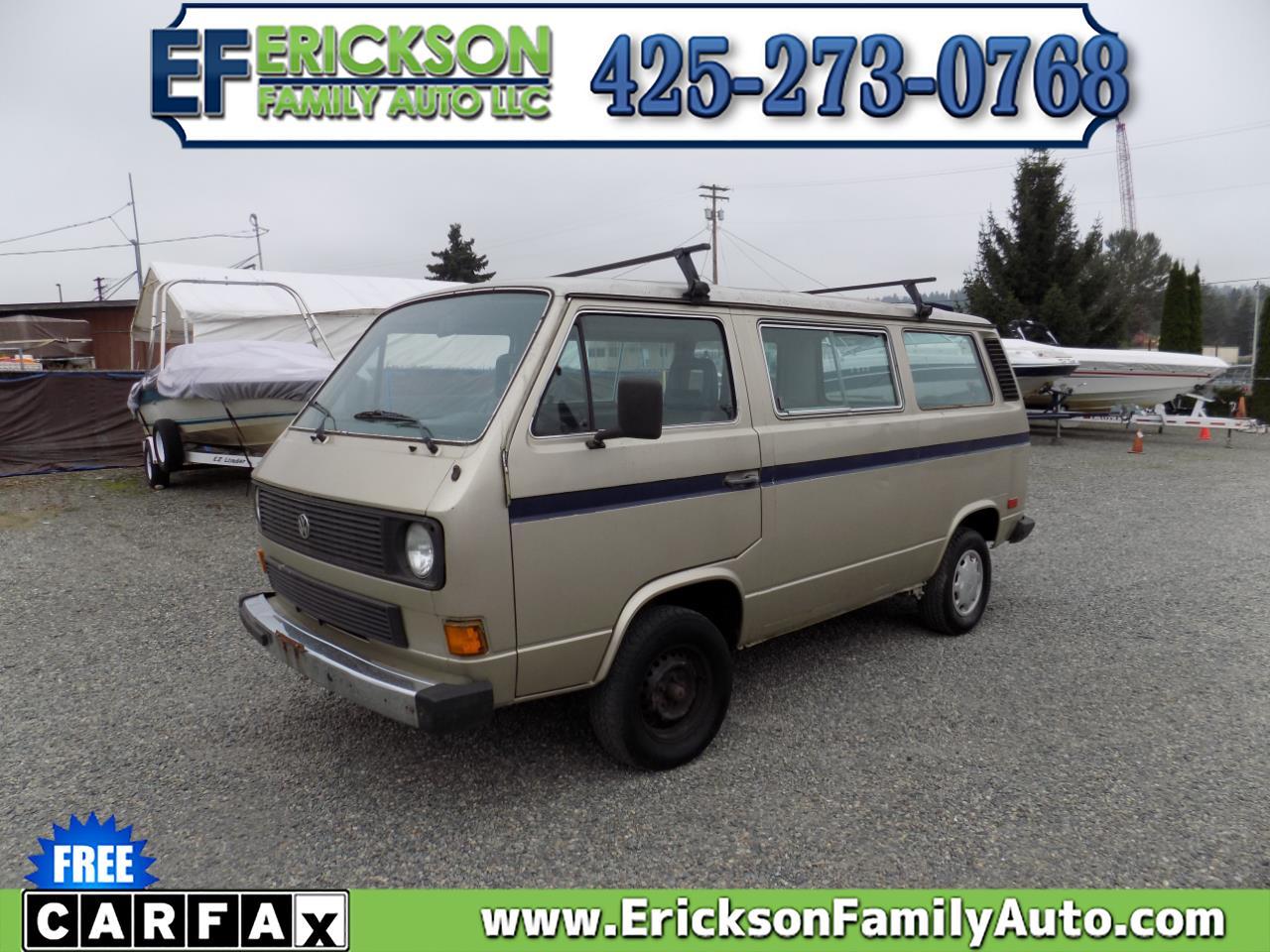 Volkswagen Vanagon/Campmobile GL Vanagon 7-Seat 4-Spd 1985