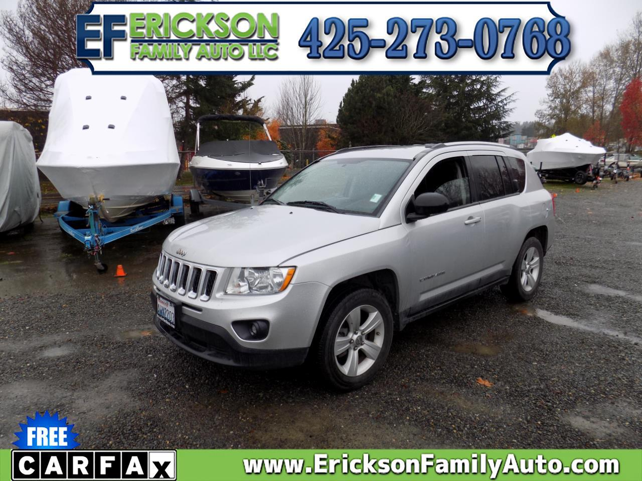 Jeep Compass 4WD 4dr Latitude 2011