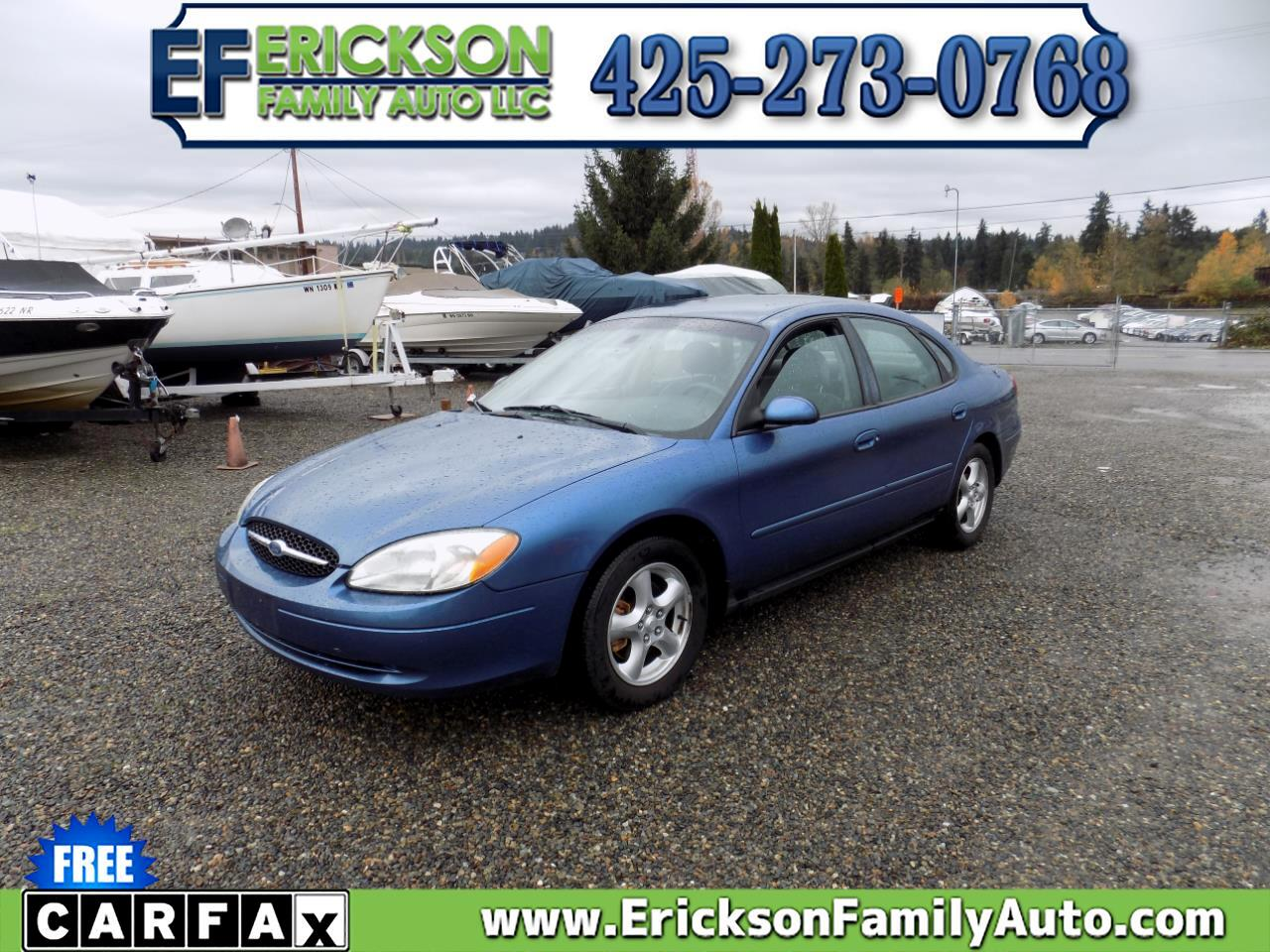 Ford Taurus 4dr Sdn SE Standard 2002