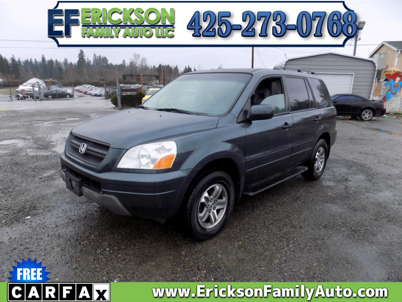 Honda Pilot 4WD EX Auto w/Leather/Nav 2004