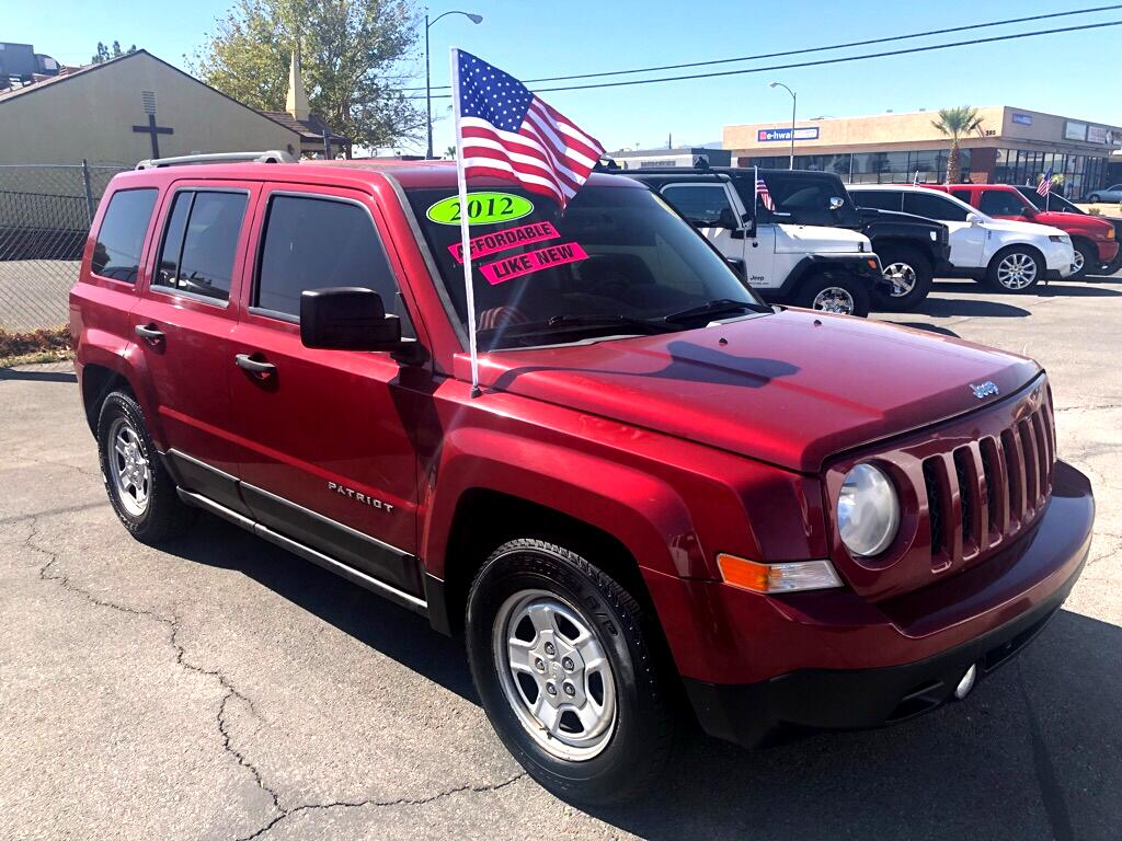 2012 Jeep Patriot FWD 4dr Sport