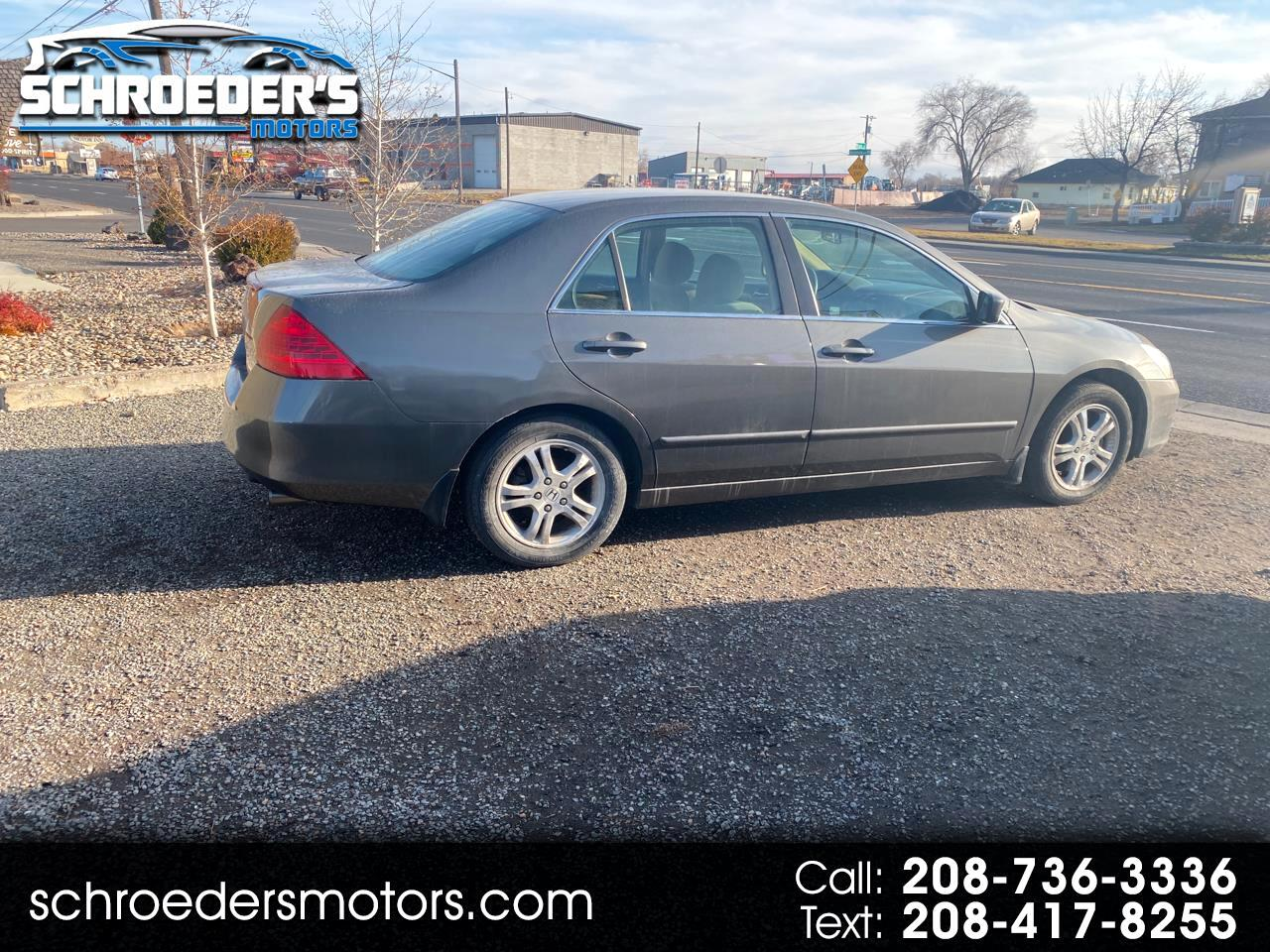 2007 Honda Accord Sdn 4dr I4 MT EX