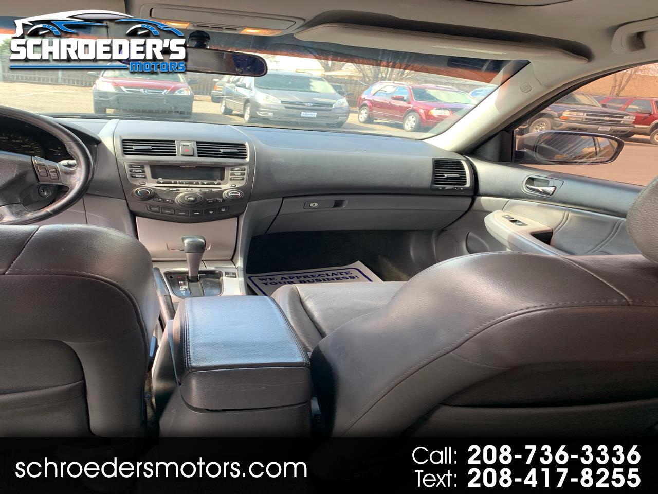 Honda Accord Sdn 4dr V6 AT EX-L 2007