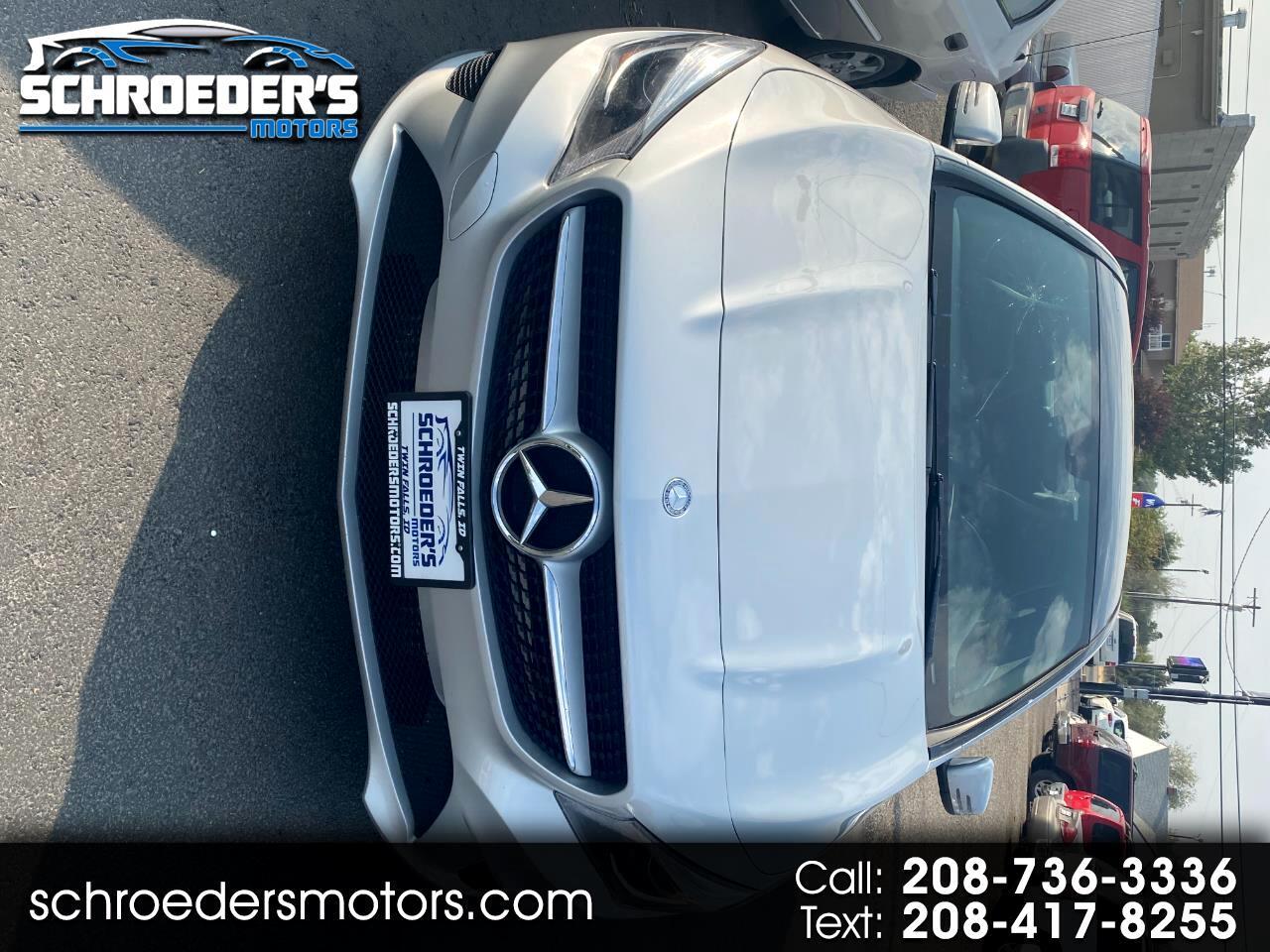 Mercedes-Benz CLA-Class 4dr Sdn CLA 250 4MATIC 2014