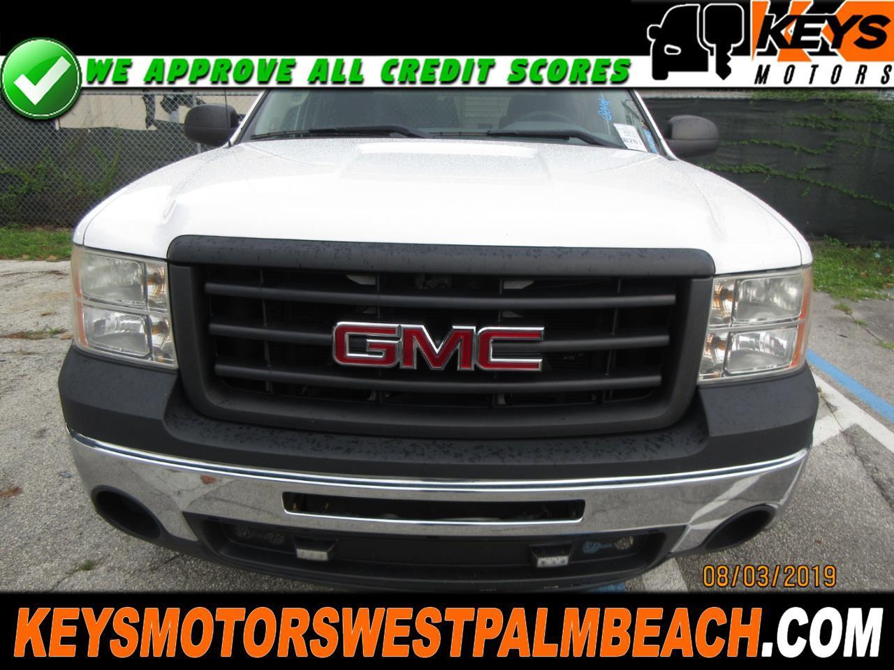 2011 GMC Sierra 1500 Work Truck Crew Cab 2WD