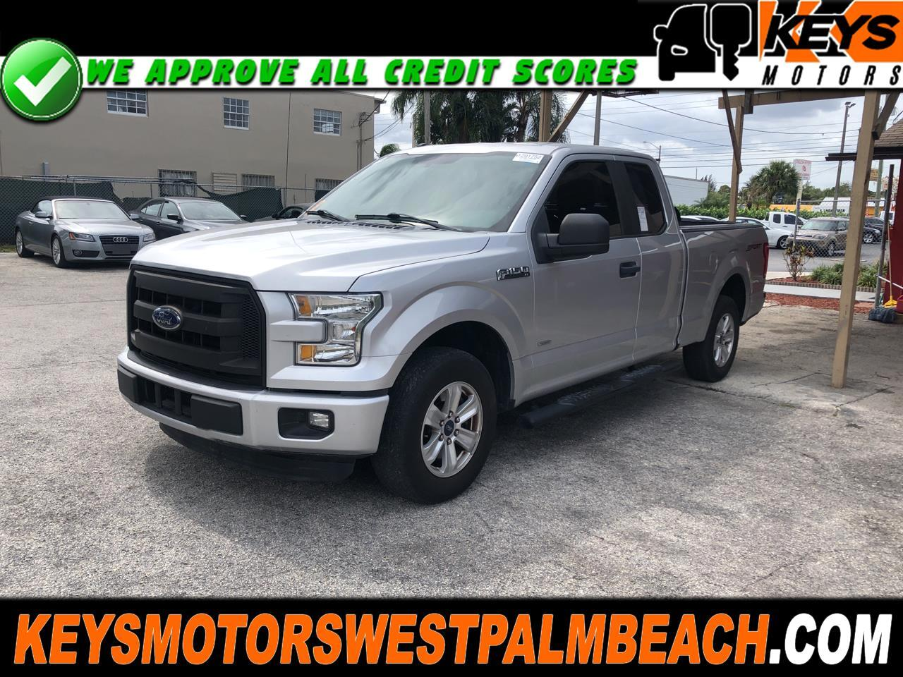 """Ford F-150 2WD SuperCab 145"""" FX2 Sport 2016"""