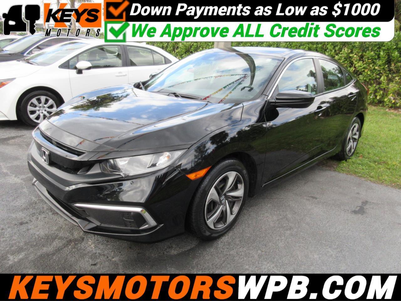 Honda Civic LX Honda Sensing Sedan CVT 2019
