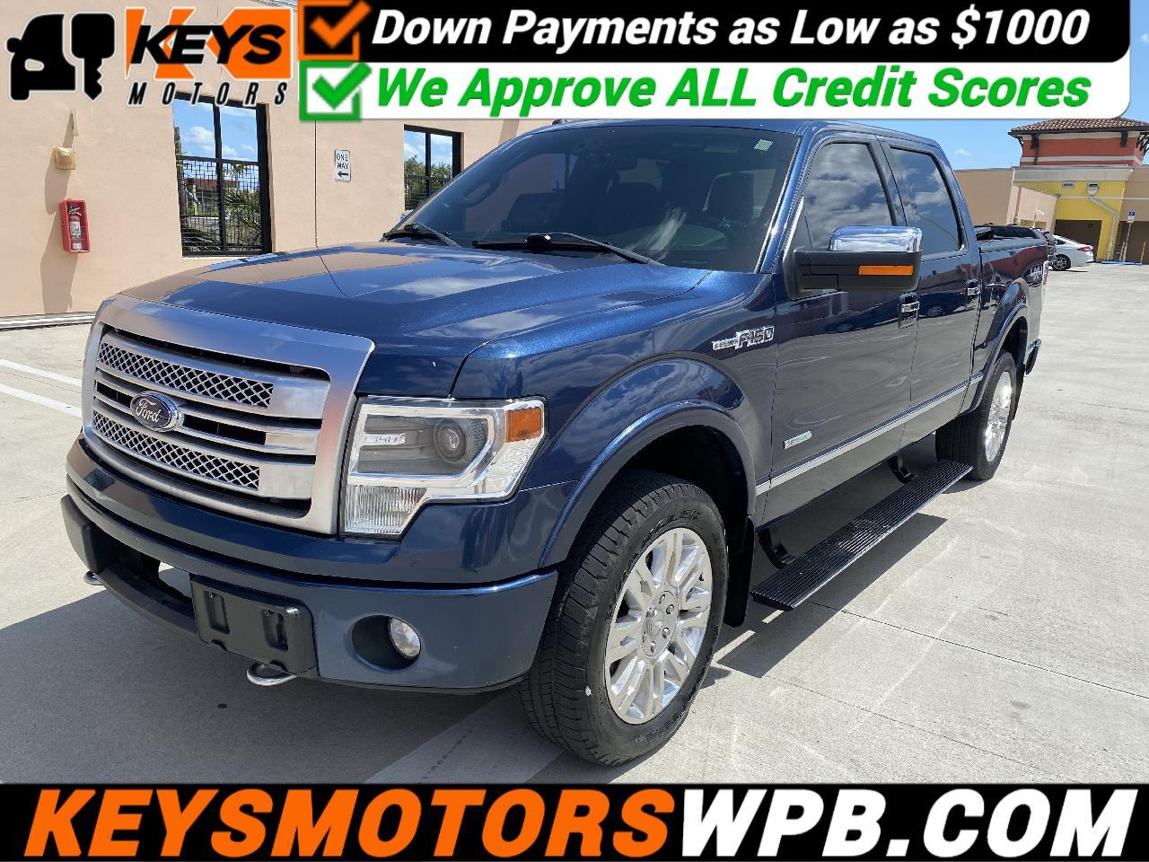"Ford F-150 4WD SuperCrew 145"" Platinum 2013"