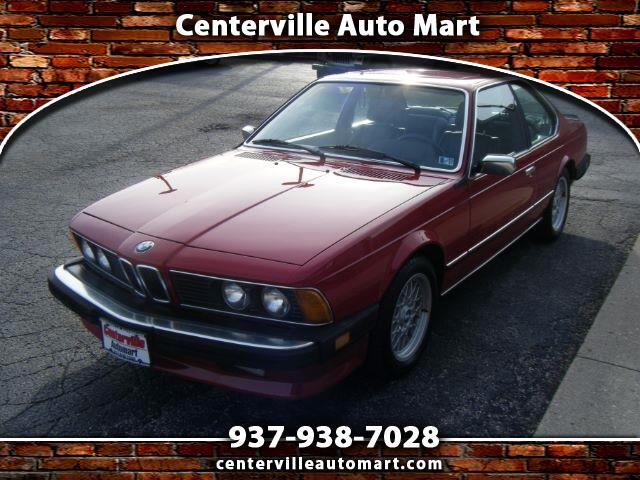 1985 BMW 6-Series 635CSI automatic