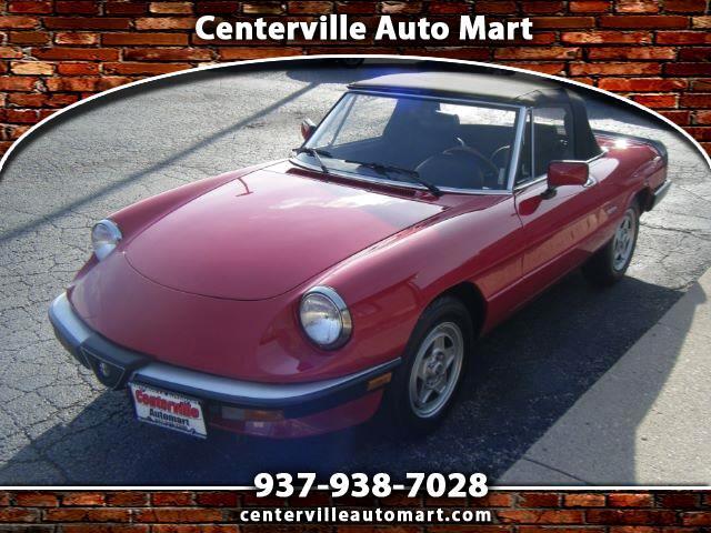 1990 Alfa Romeo Spider Veloce convertible