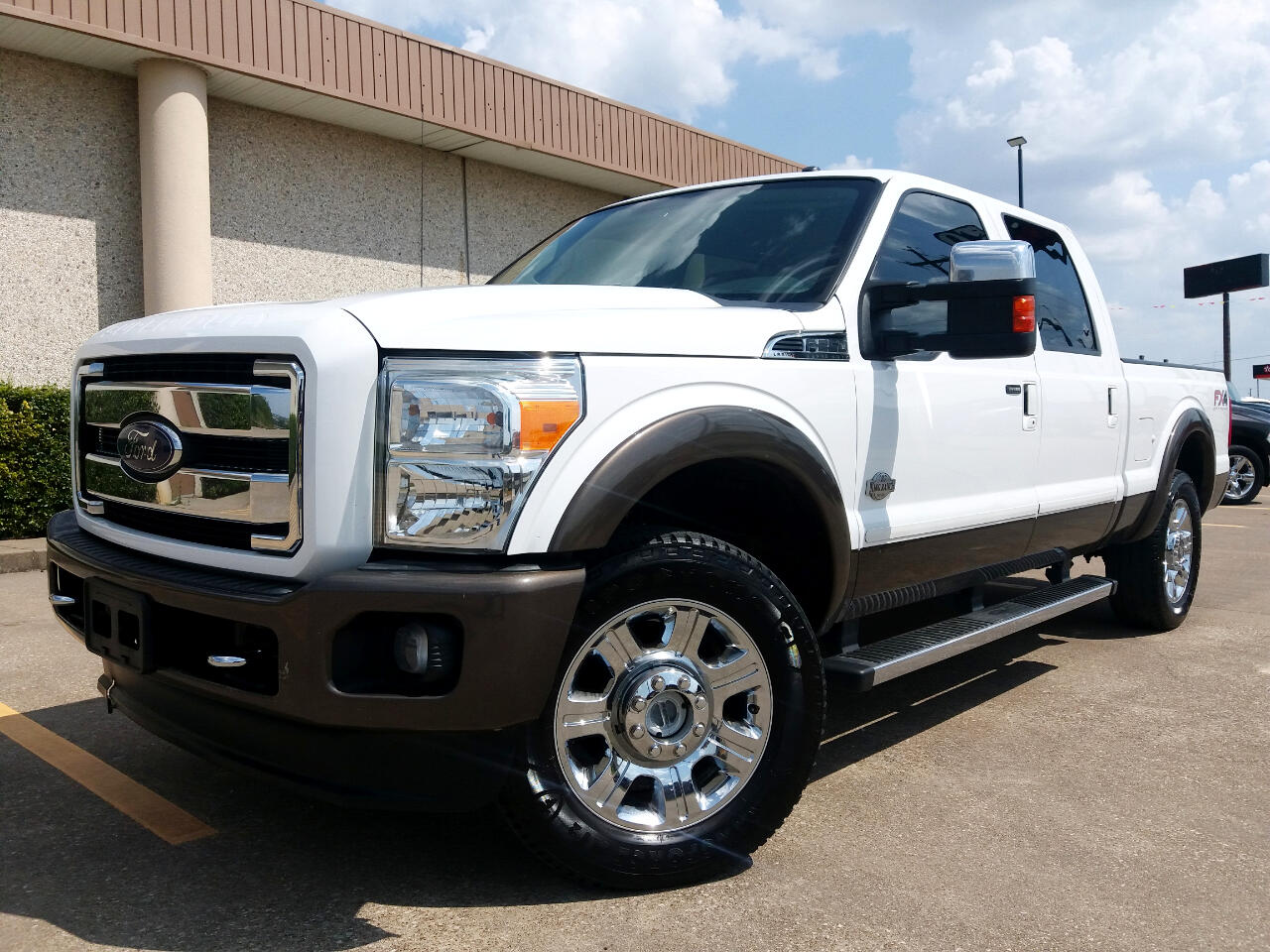 2016 Ford F-250 SD King Ranch Crew Cab Long Bed 4WD
