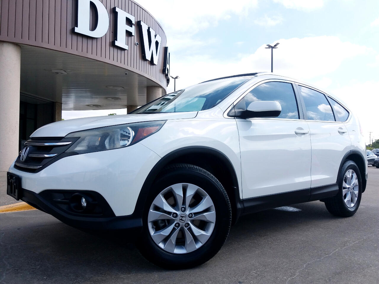 2013 Honda CR-V EX-L 2WD 5-Speed AT with Navigation