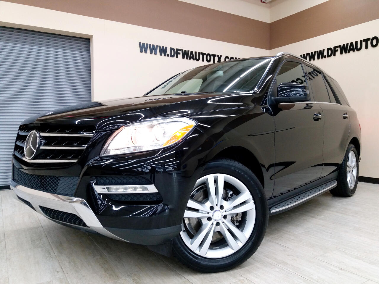 Mercedes-Benz M-Class ML350 BlueTEC 2013
