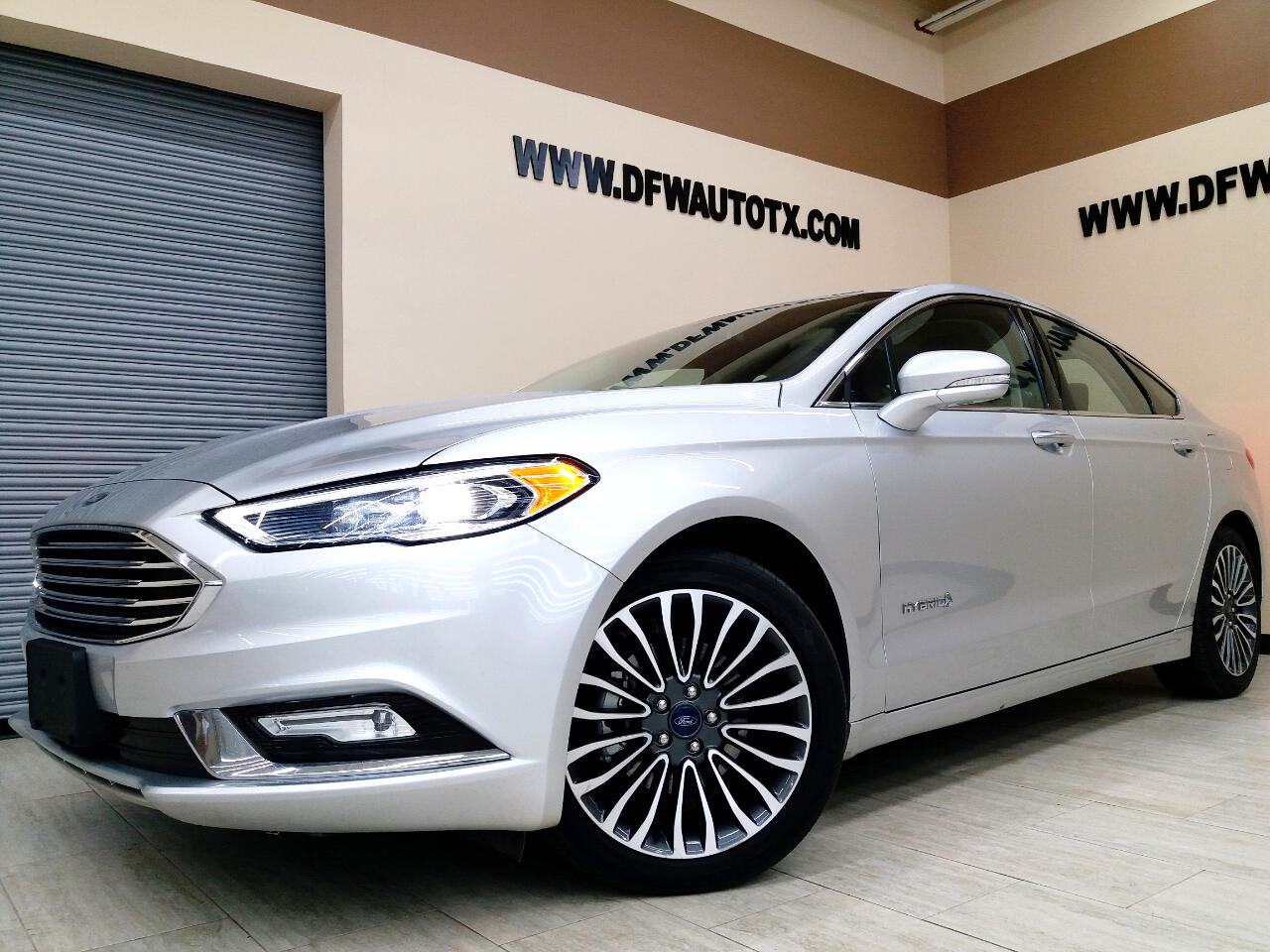 Ford Fusion Hybrid Titanium 2018