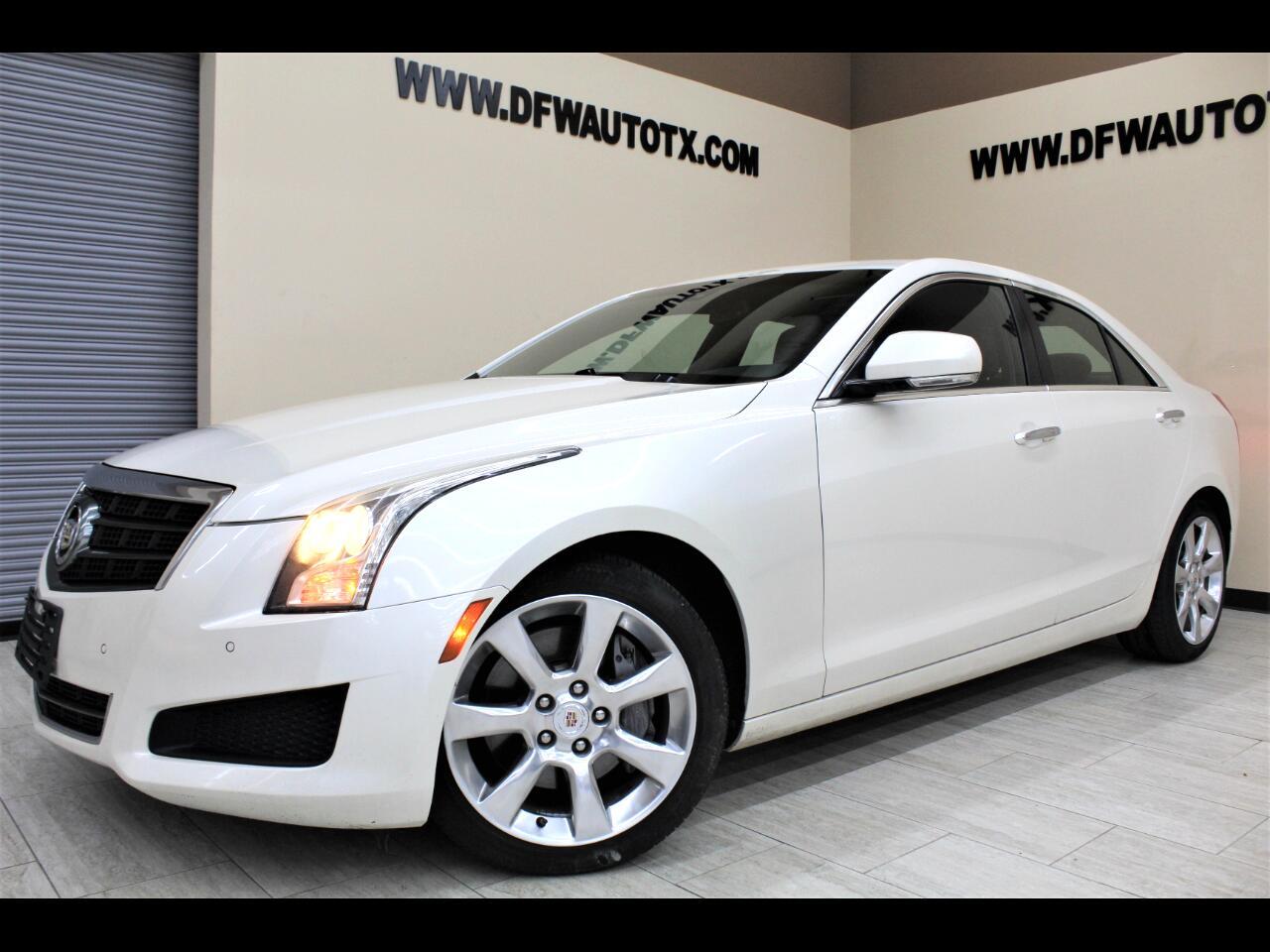 Cadillac ATS 2.5L Luxury RWD 2013