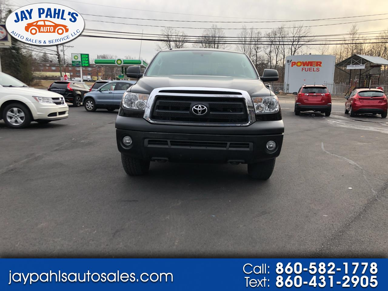 Toyota Tundra 4WD Truck Double Cab 5.7L V8 6-Spd AT (Natl) 2013