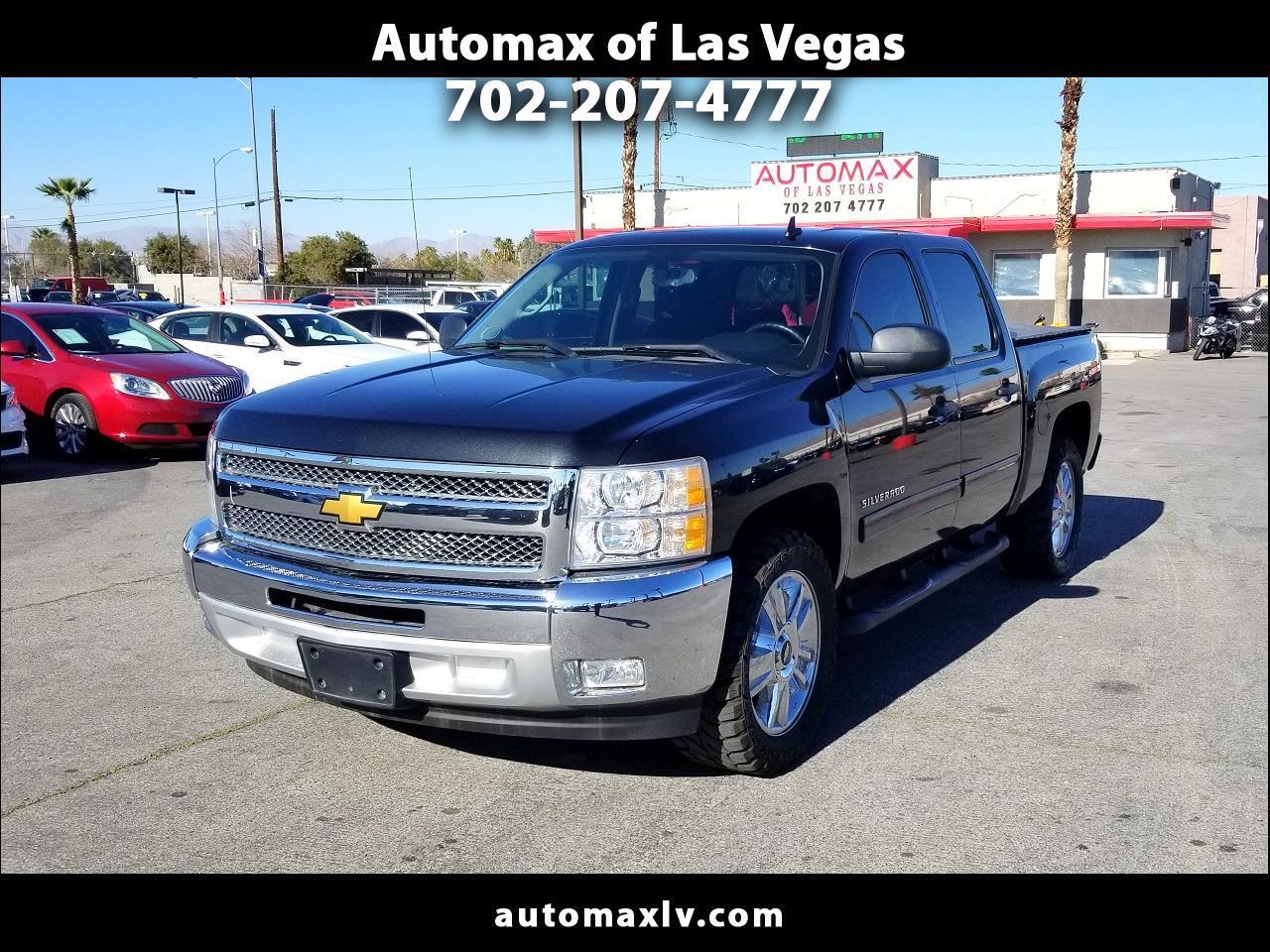 """Chevrolet Silverado 1500 2WD Crew Cab 143.5"""" LT 2012"""