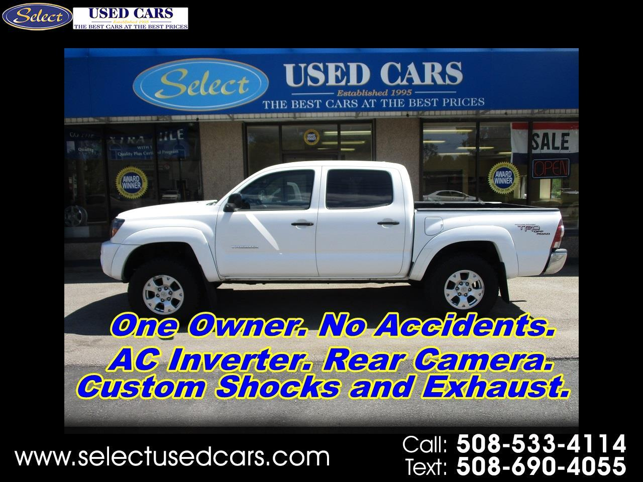 2010 Toyota Tacoma 2WD Double Cab V6 AT TRD Off Road (Natl)