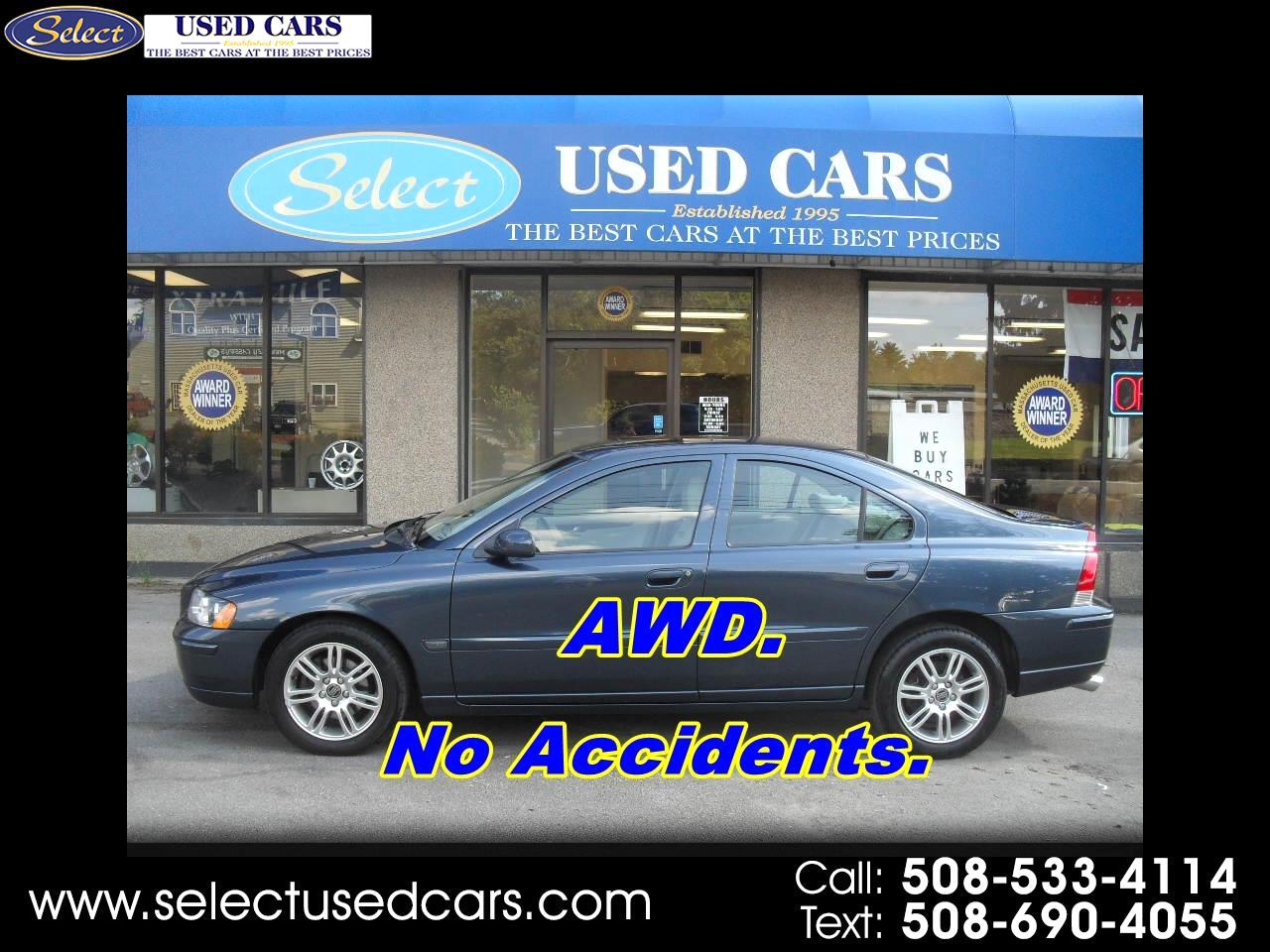 2009 Volvo S60 4dr Sdn 2.5T AWD w/Sunroof