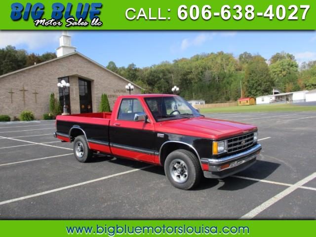 Chevrolet S10 Regular Cab 2WD 1987