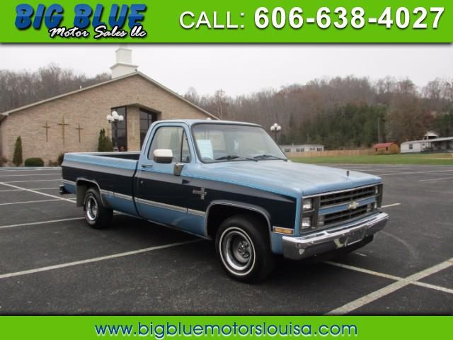 Chevrolet R10 Regular Cab 2WD 1987