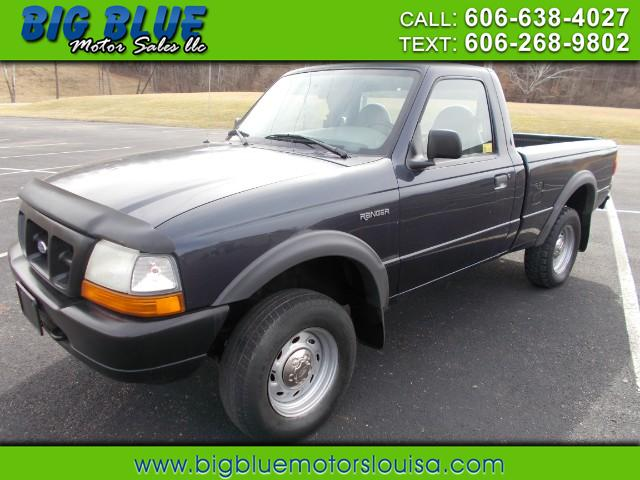1999 Ford Ranger Reg. Cab Short Bed 4WD