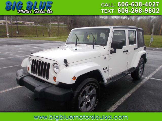 2007 Jeep Wrangler UNLIMITED X PLUS 4WD