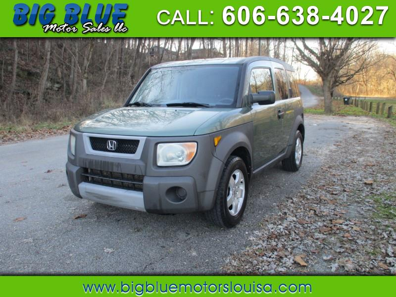 Honda Element EX 4WD AT w/ Front Side Airbags 2003