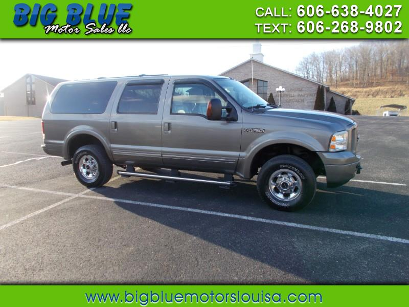 Used 2005 Ford Excursion Limited 6 0l 4wd For Sale In