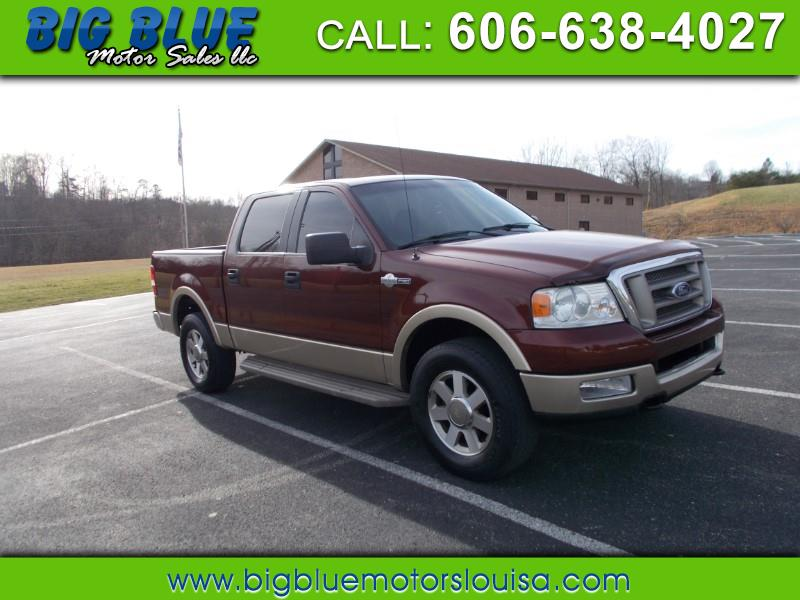 Ford F-150 King Ranch SuperCab Short Bed 4WD 2005