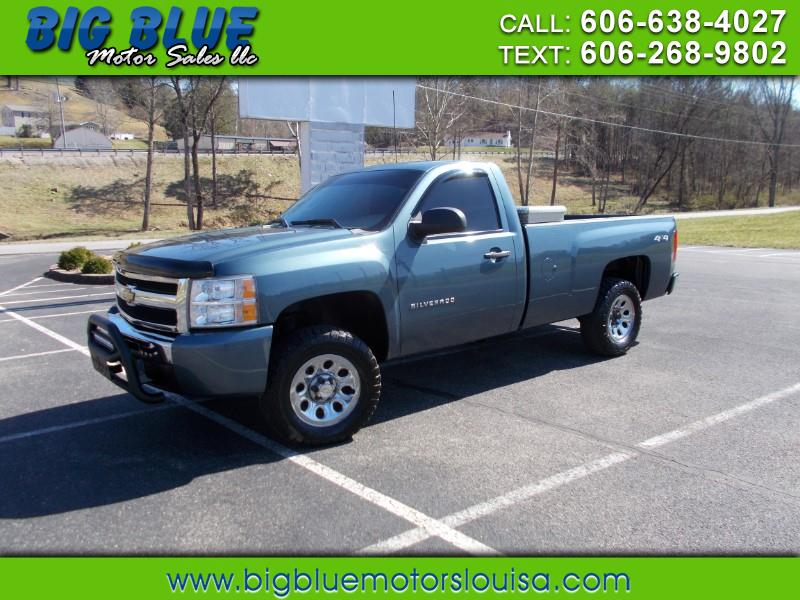 2011 Chevrolet Silverado 1500 Regular Cab Long Bed 4WD