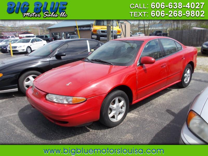 2001 Oldsmobile Alero GL4 Sedan