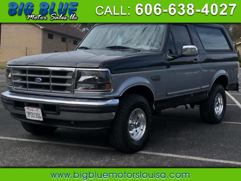 Ford Bronco XLT 1995