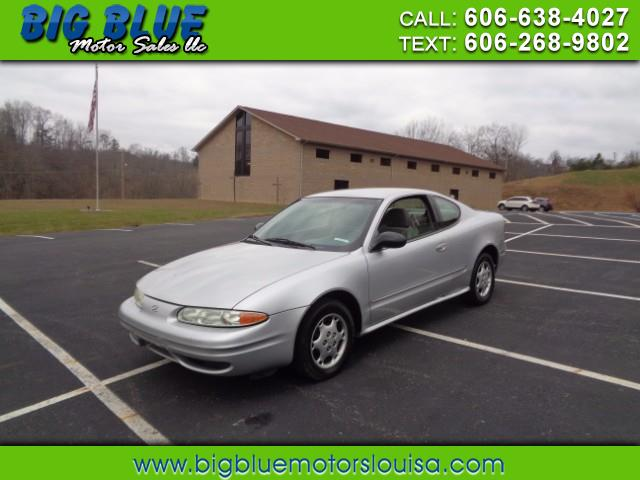 2001 Oldsmobile Alero GX Coupe