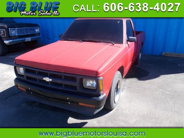 Chevrolet S10 Pickup EL Reg. Cab Short Bed 2WD 1992