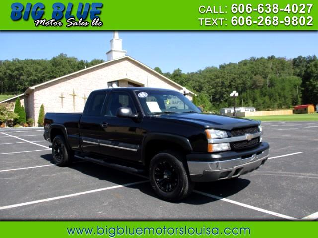 2003 Chevrolet Silverado 1500 Ext. Cab Short Bed 4WD