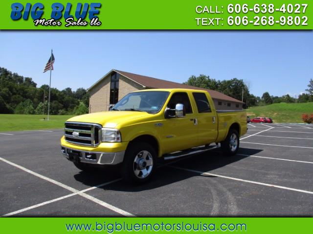 2006 Ford F-250 SD Lariat Crew Cab Long Bed 4WD