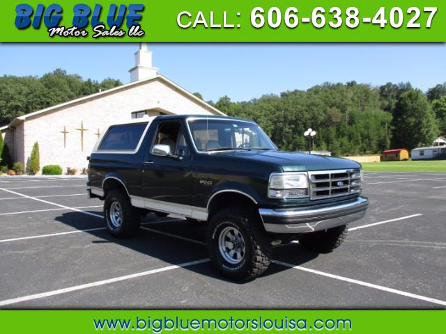 Ford Bronco 2dr Eddie Bauer 1993