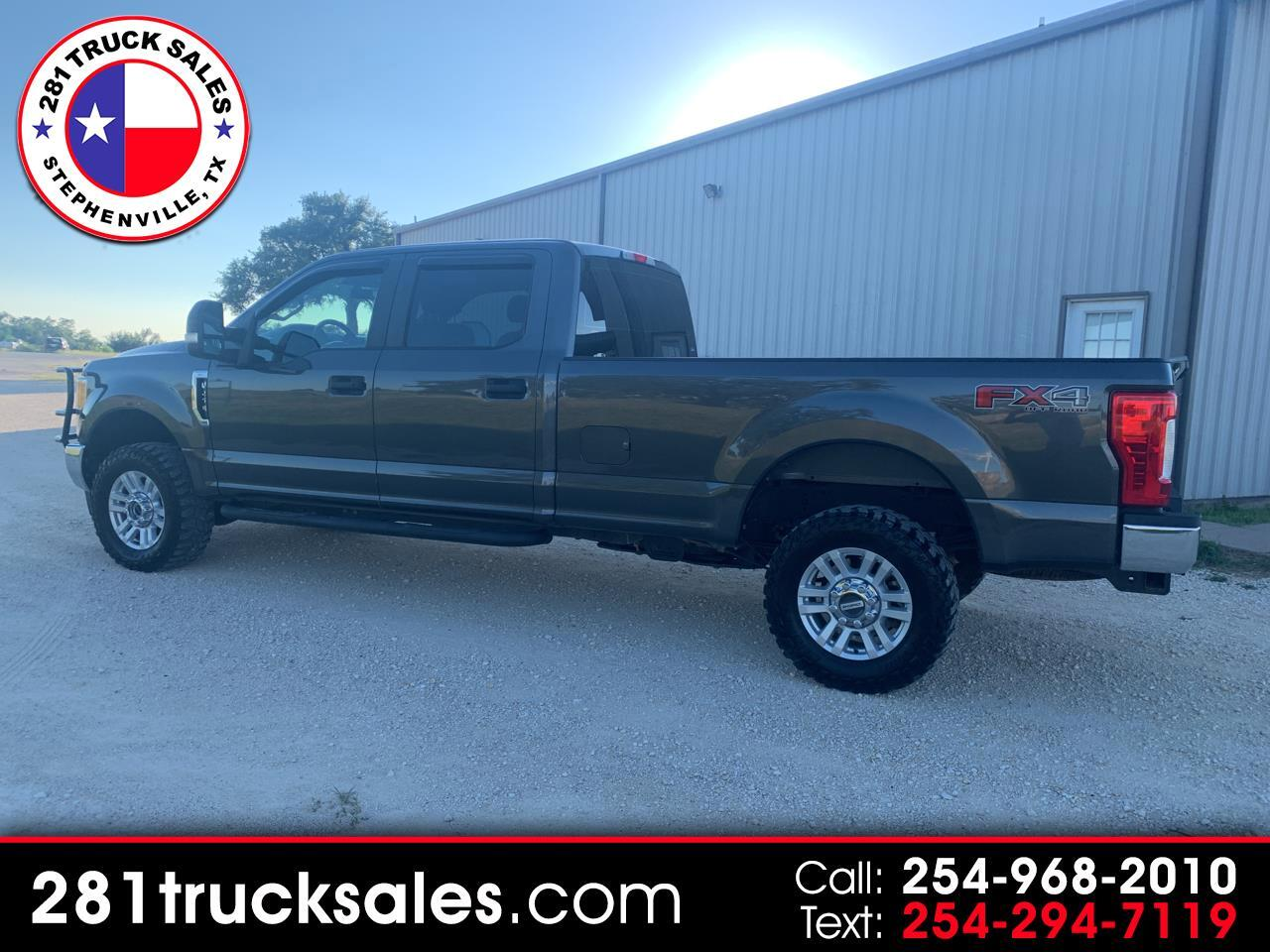2017 Ford F-250 SD XL Crew Cab Long Bed 4WD